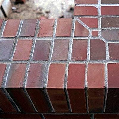 Neutral Gray Mortar and Bricks