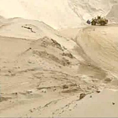 Natural Sand Quarry