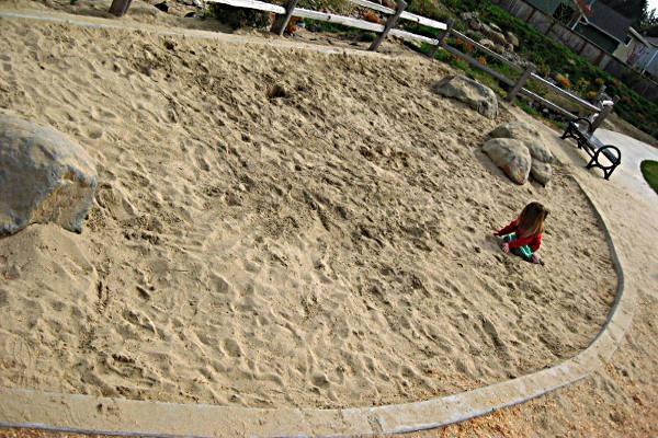 Backyard Sandpit Playground