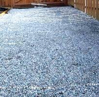 A beautiful gravel driveway