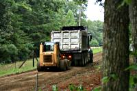 Grading A Gravel Entrance Road
