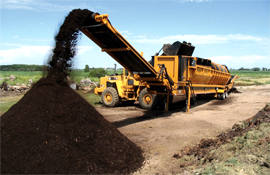 Screening Gravel Aggregate