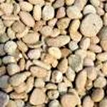"Washed Gravel 3/4"" Rounded River Rock"